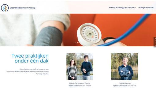 Homepage gc-debrug.nl